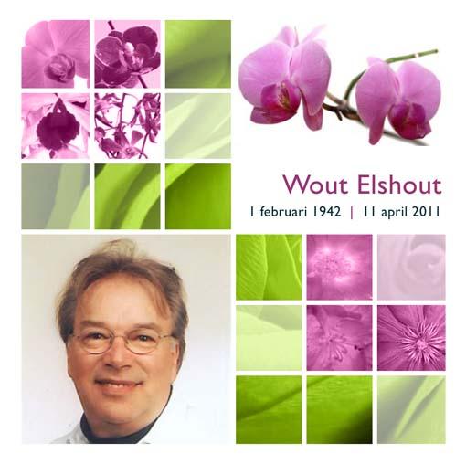 Rouwkaart Wout Elshout